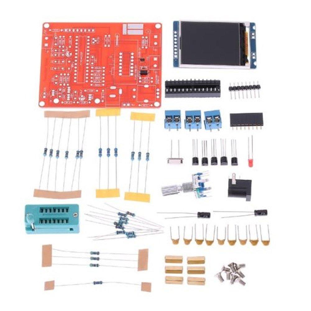 Rokoo Gm328 Transistor Tester Diode Cap Esr Volt Freq Inductance Measuring Jig Circuit Electronics