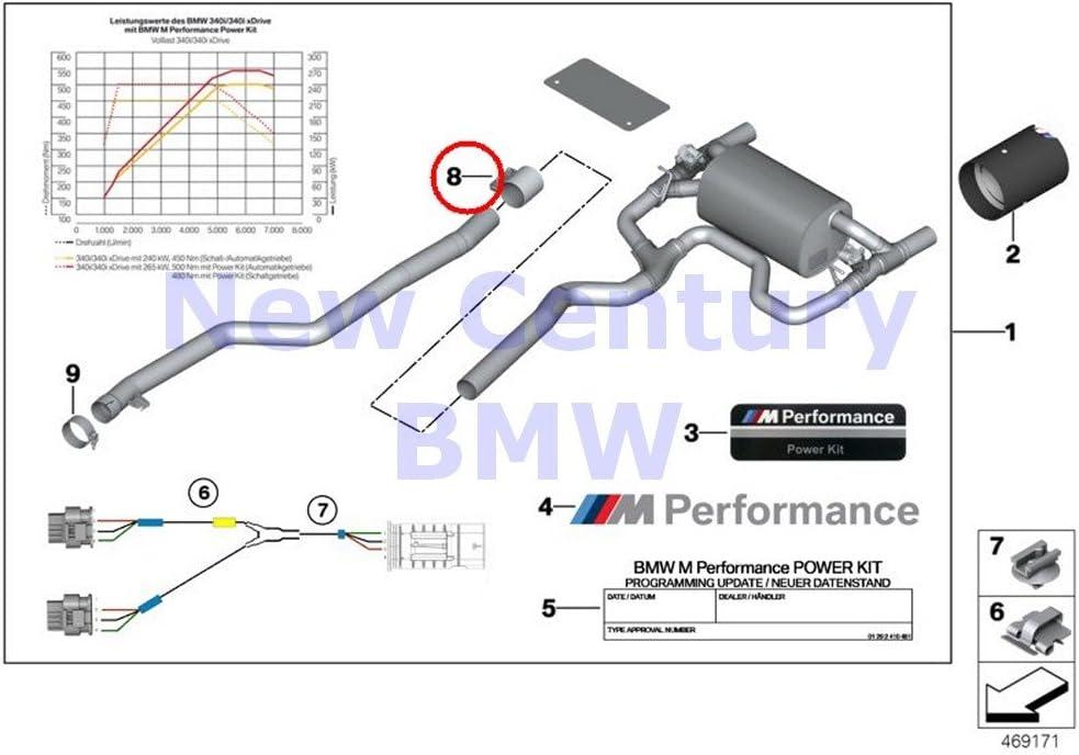 BMW Genuine Oil Cooler Circuits Radiator O-Ring 13.4X1.78 F22 F23 F30 F32 F33