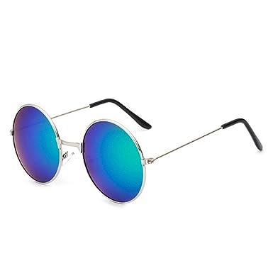f398e019d7 COOCOl 2pcs Vintage Round Sunglasses For Women Men Brand Designer Mirrored  Glasses Retro Female Male Sun