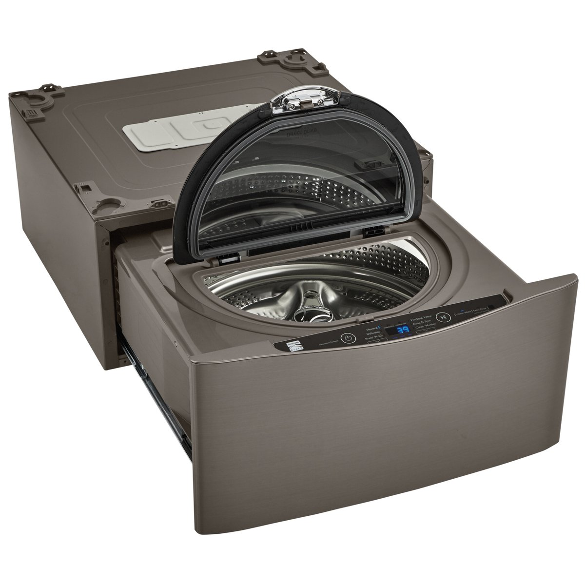 Kenmore Elite 51973 27'' Wide Pedestal Washer in Metallic silver, includes delivery and hookup