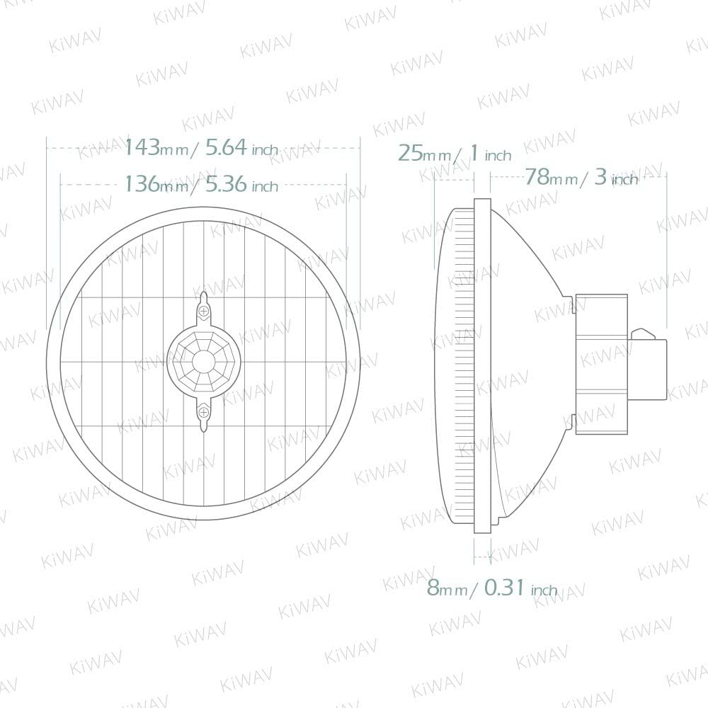 Headlights ø 5 mm-brass nickel plated production-cpc