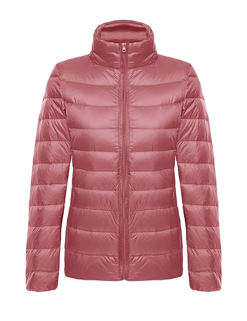 9cad04cb6e5 CHERRY CHICK Women's Ultralight Packable Down Jacket with Stuff Sack