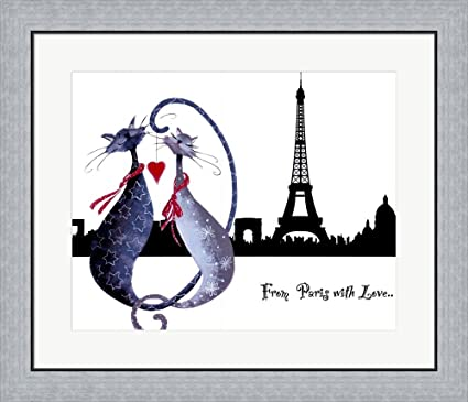 Amazon Great Art Now From Paris With Love Catitudes By Marilyn