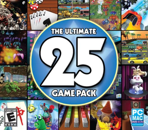 The Ultimate 25 Game Pack Jewel Case