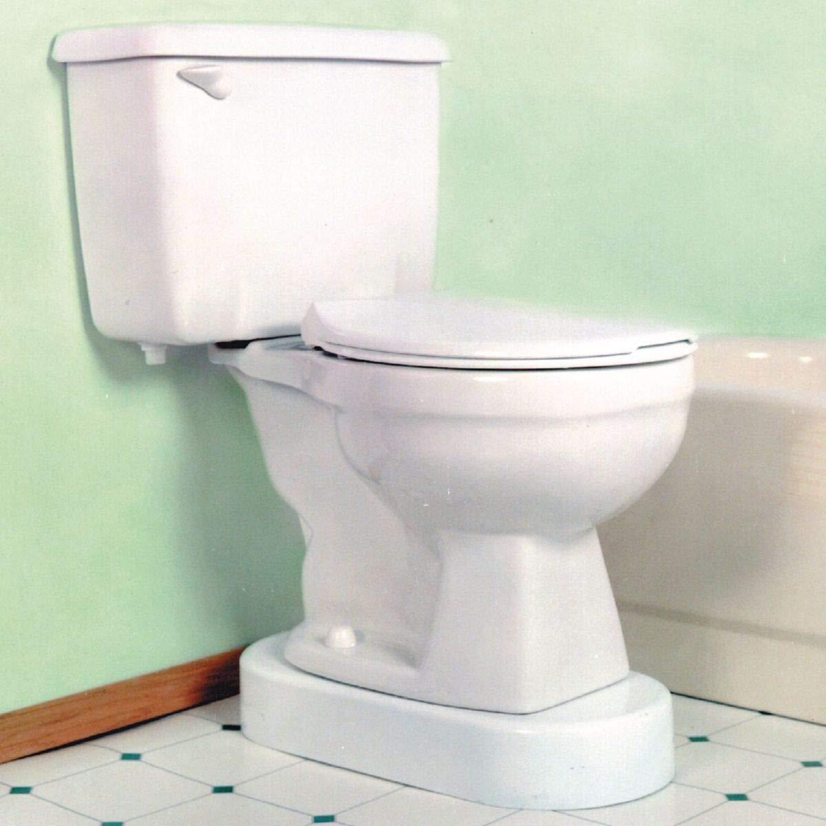Toilevator Toilet Riser, 11-1/2''W x 23''L x 3-1/2''H, 500-lb Capacity by Toilevator¨