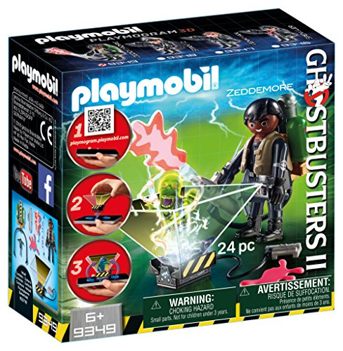 PLAYMOBIL Ghostbuster Winston Zeddemore Building Set