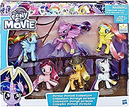 amazon com my little pony the movie pirate ponies collection toys