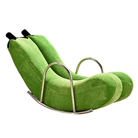 LIXIONG Mecedora Interior Sillón Sillones Sling Chair ...