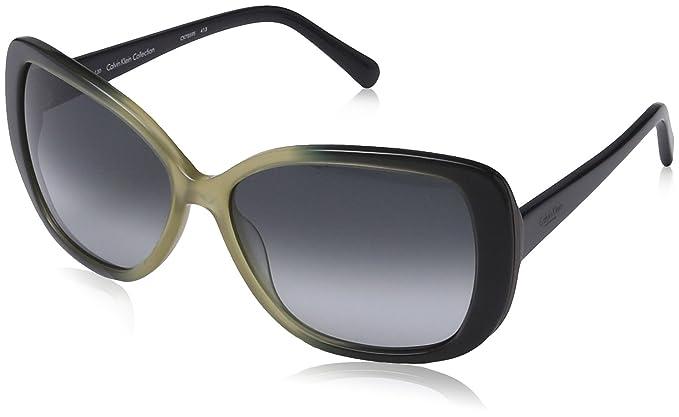 Calvin Klein - Gafas de sol Ovaladas CK7859, 413 Navy & Sand ...