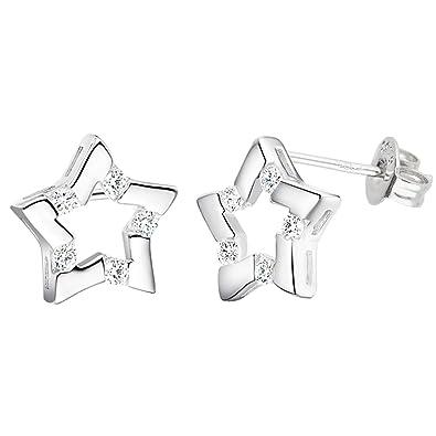 50% Preis wähle echt bestbewertet billig LÖB Damen Ohrstecker Ohrringe 925 Sterling Silber Stecker ...