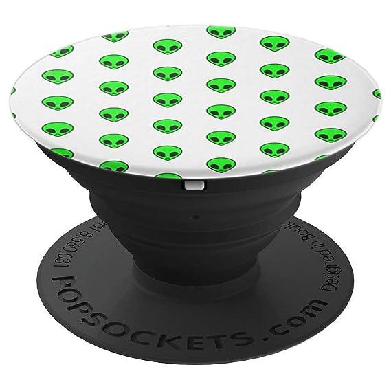 Amazon.com: Alien Head Pattern funny pop socket - PopSockets ...
