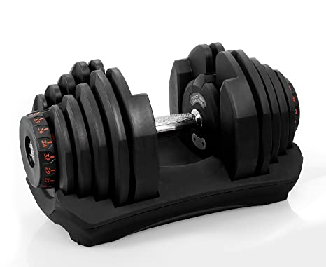 9ea866bbb54 Image Unavailable. Powertrain 40kg Adjustable Dumbbell Home Gym Exercise ...