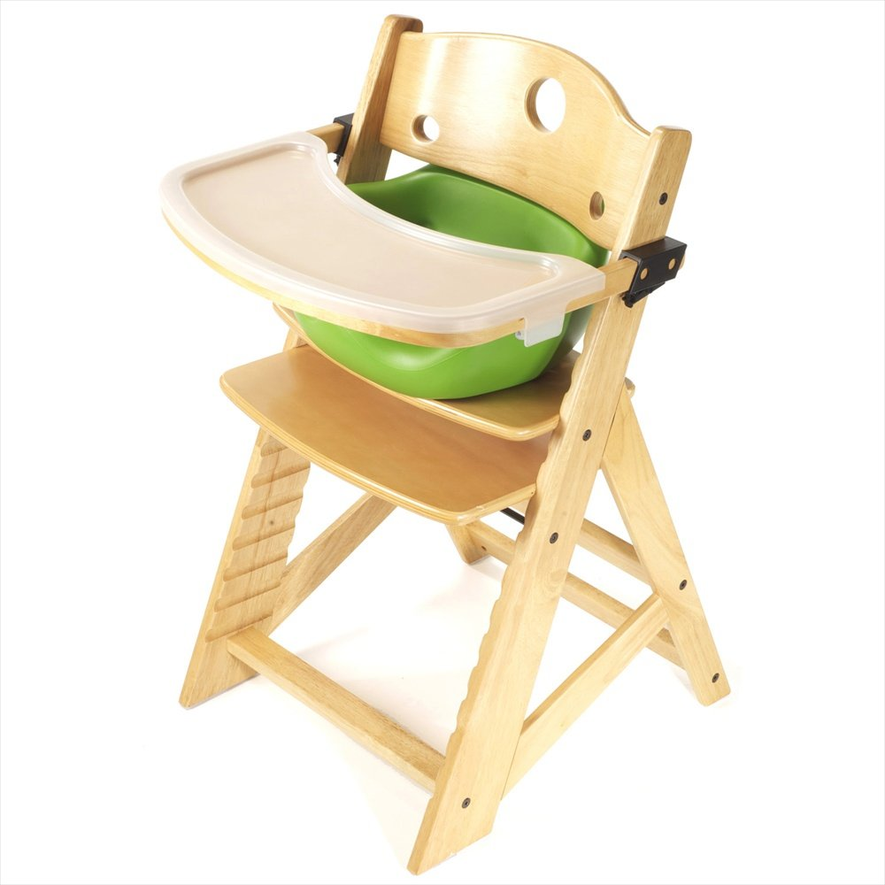 Amazon.com : Keekaroo Height Right High Chair, Infant Insert And Tray  Combo, Natural/Lime : Childrens Highchairs : Baby