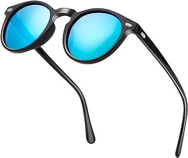 Retro Vintage Round Sunglasses Eyewear Shades Mens Womens Eye Glasses UV400 Hot