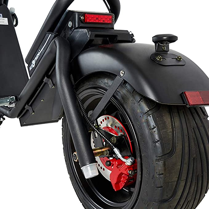 VIRTUE Moto electrica Matriculable Scooter de 1200w bateria ...