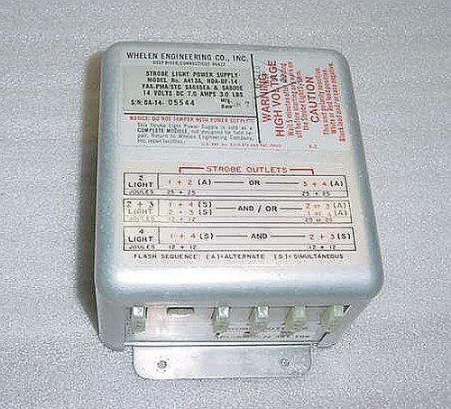 HDA-DF-14, A413A, Whelen Aircraft Strobe Light Power Supply -