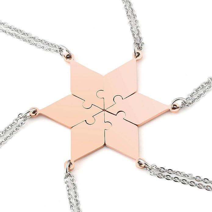 aus Metall  *TOP* **Pentagram on Fire** auf Metallplatte bedruckt Halskette