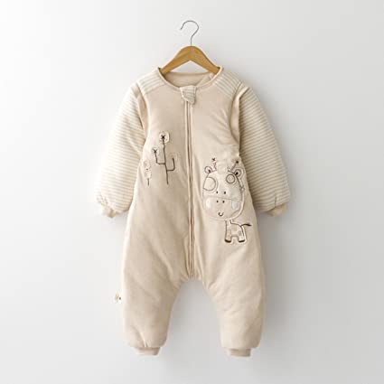 Sacos De Dormir Para Bebés Mantas Para Bebés Colchas Antideslizantes Modelos De Otoño E Invierno Pijamas