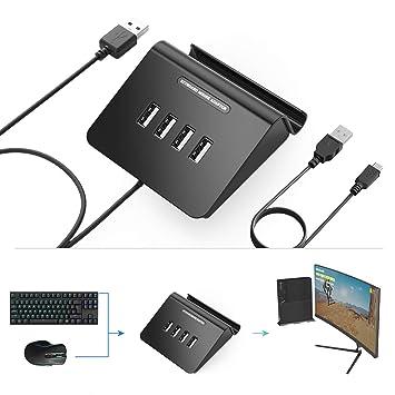 [Versión actualizada] Delta Essentials - Adaptador de Teclado y ratón para Nintendo Switch/