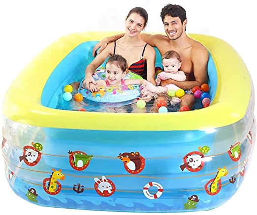 Lili Piscina Hinchable Cobertor para Piscina Rectangular Inflable ...