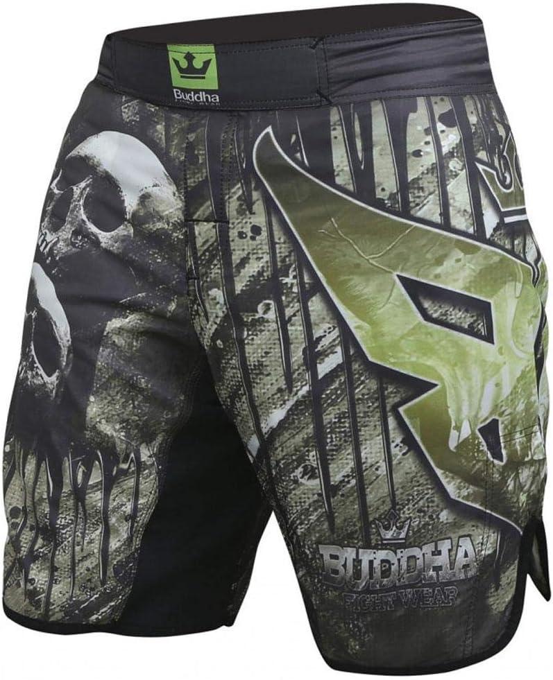 Pantal/ón de MMA Buddha Skull