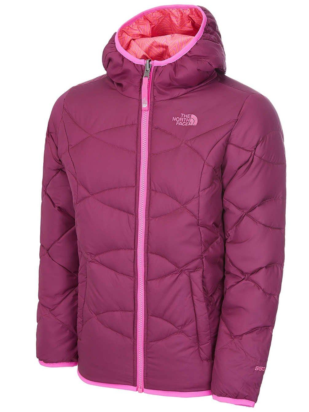 The North Face Girls Reversible Moondoggy Jacket CHB3N6P_YS