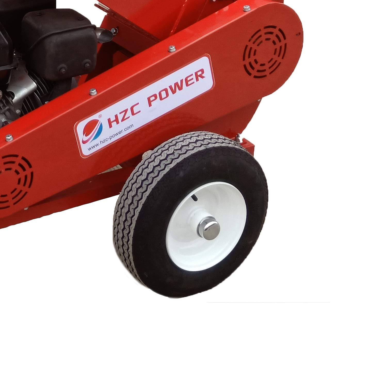 HZC Power Motor de gasolina gasolina madera trituradora jardín ...