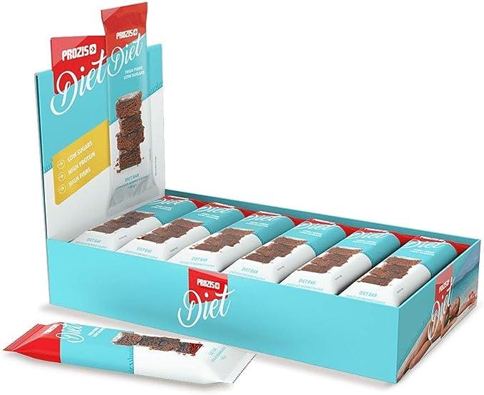 Prozis Diet Bar 12x35g - Delicioso Aperitivo Brownie de ...