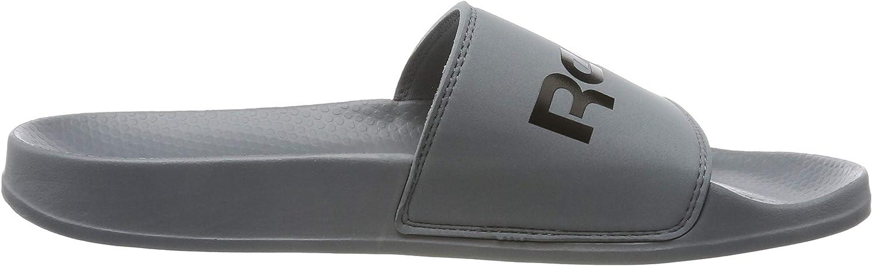 Reebok Classic Slide, Chaussures de Plage & Piscine Mixte Enfant Multicolore Cold Grey 5 Black 000