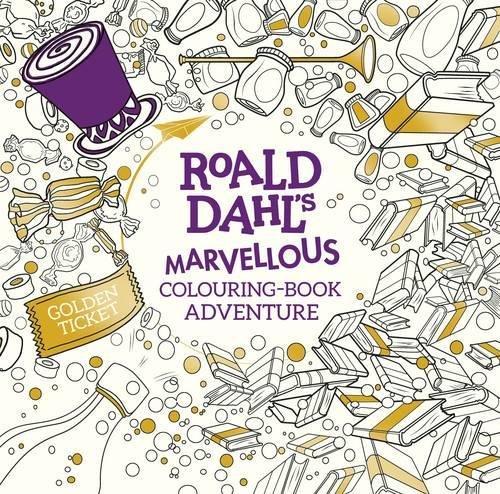Roald Dahls Marvellous Colouring Book Adventure Books Amazoncouk Dahl 9780141373546