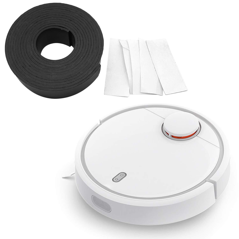 Banda de marcadores magnéticos 2m con adhesivo compatible con Xiaomi Robot aspirador de barrido Xiaowa Miaia Xiaowa: Amazon.es: Hogar