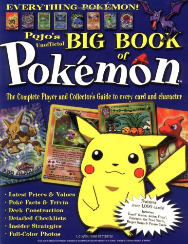 The Big Book of Pokemon: The Ultimate Player and Collector's Guide from Triumph Books