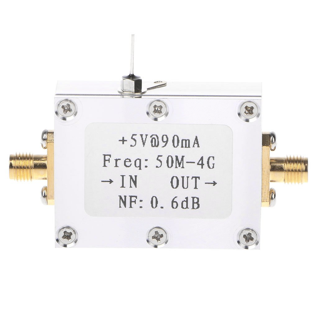 Amazon com: SQLang 50M-4GHz Low Noise Amplifier, LNA Ham Radio