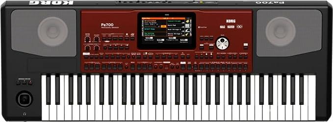 Korg PA700 Professional Arranger 61-Keys with Touchscreen, Black