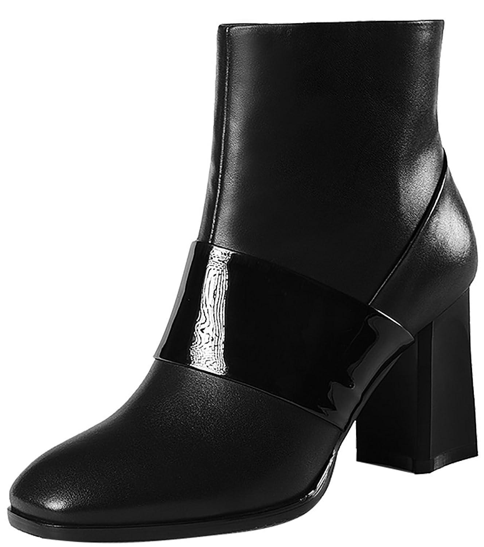 ELEHOT Womens EleOutstanding 7.5CM mid-heel Boots