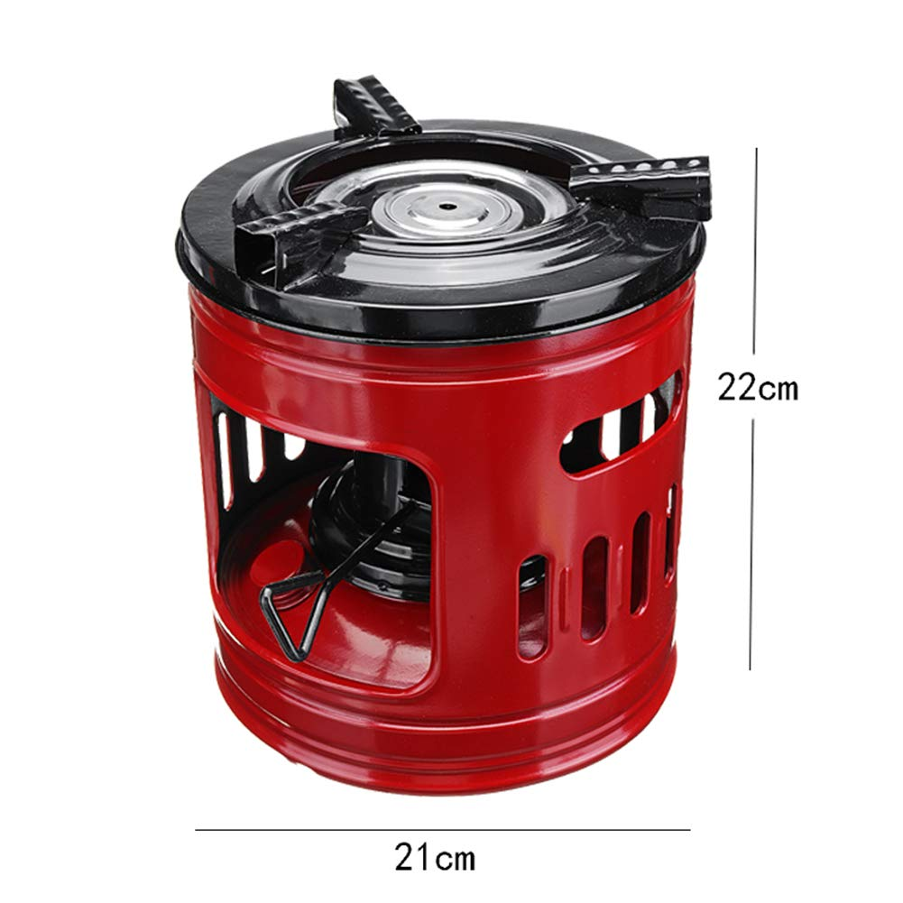 Big Power Windproof Oil Heaters Alcohol Stoves Perfect for Camping Picnic Burner Furnace Cooking BBQ GYFHMY Handy Outdoor Portable 8 Wicks Kerosene Stove