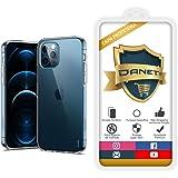 """Capa Capinha Para Iphone 12 e 12 Pro com Tela de 6.1"""" Polegadas Capinha Transparente Case Clear Ultra Fina Silicone - Danet ("""