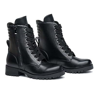12d3ab8239e Amazon.com   Capezio Swag Flat Sole Combat Boot   Boots