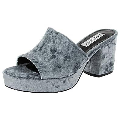 f96849fbc60 Steve Madden Womens Relax Platform Sandal Shoes