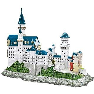 CubicFun World's Great Architectures MC062h Germany Neuschwanstein Castle 3d Puzzle, 121 Pieces Pro-Motion Distributing - Direct