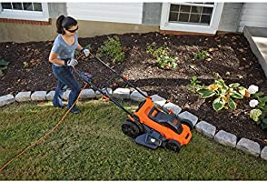 BLACK+DECKER LM2000-QS - Cortacesped electrico: Amazon.es ...