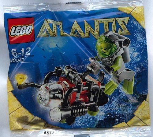 with LEGO Atlantis design