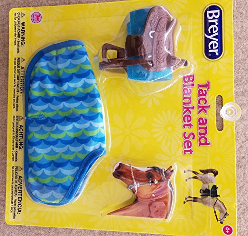 Breyer Tack (Breyer Classics Toy Saddle Set and Blanket Asst.)