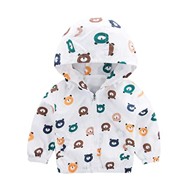 Ropa Bebe niña niño, (18M-5T) Chaqueta Oso de Cabeza Abrigos de bebé Abrigo Niños Niñas Ropa con Capucha: Amazon.es: Ropa y accesorios
