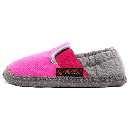 Giesswein Aichach, Zapatillas de Estar por casa para Niñas, Rosa (Flamingo),