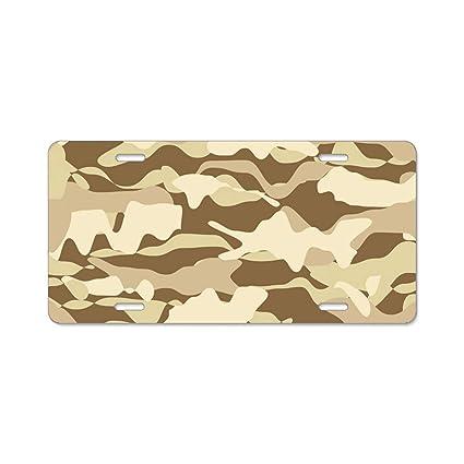 Amazon.com: Custom Frames Military Beige Desert with Bling Aluminum ...