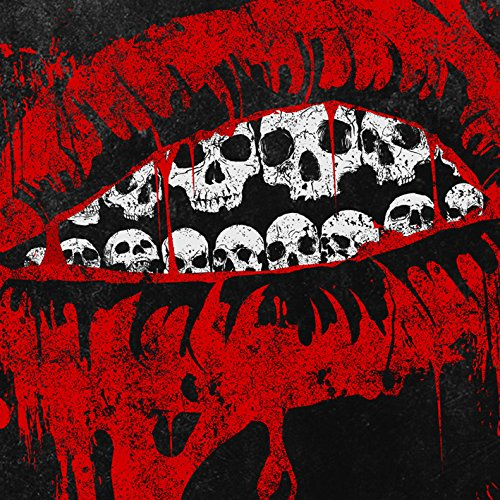 Amazoncom Skulls Smileoriginal Artworkdigital Printred Lipsred