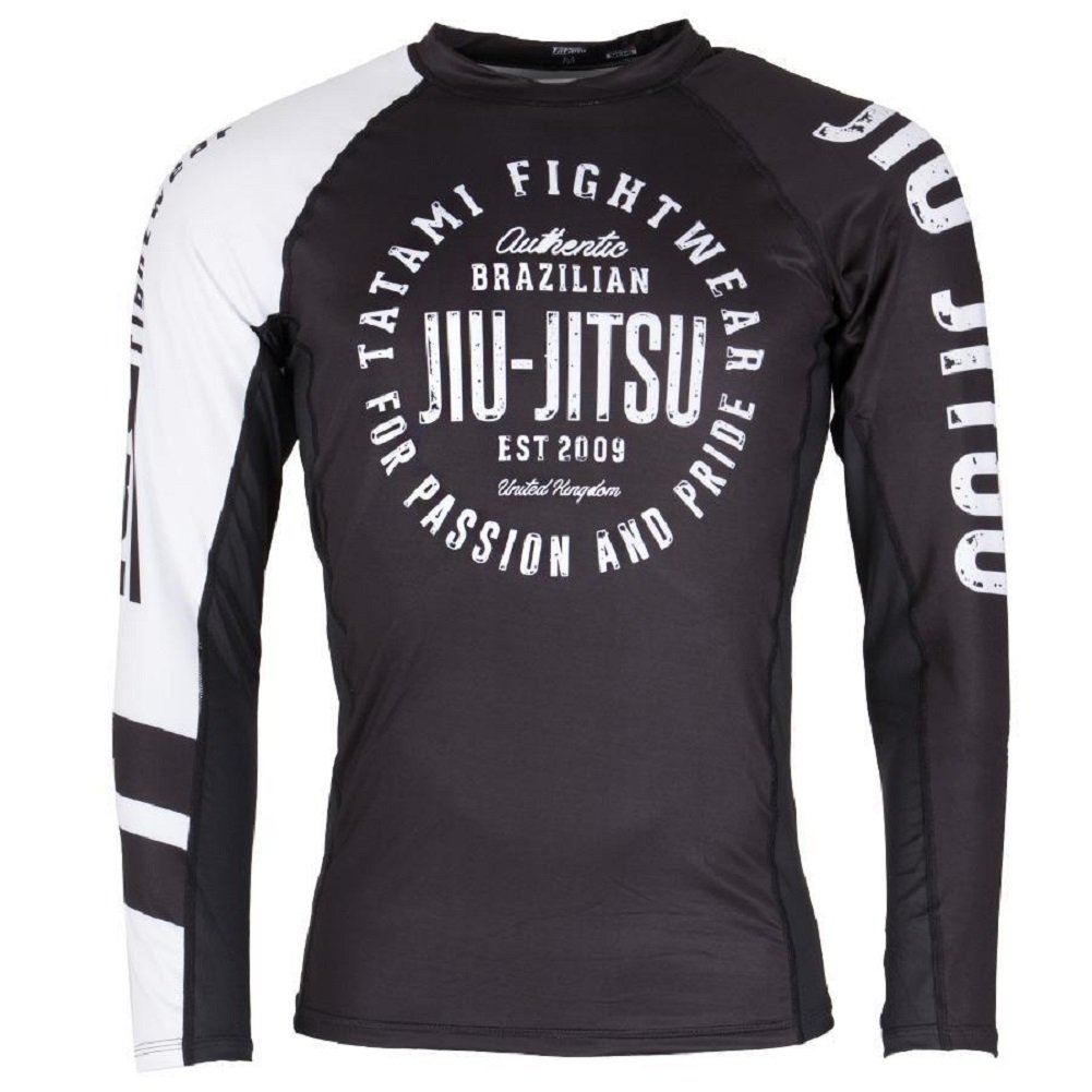 'Tatami Pride & Passion–'s BJJ MMA Rash Guard Compression Rash Guard No Gi Grappling Shirt for men Tatami Fightwear