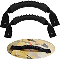Tbest Kajakhandtag, 1 par kajak bärhandtag svart hållbart båt-kanothandtag ersättningskit för kajaker resväska bagage…
