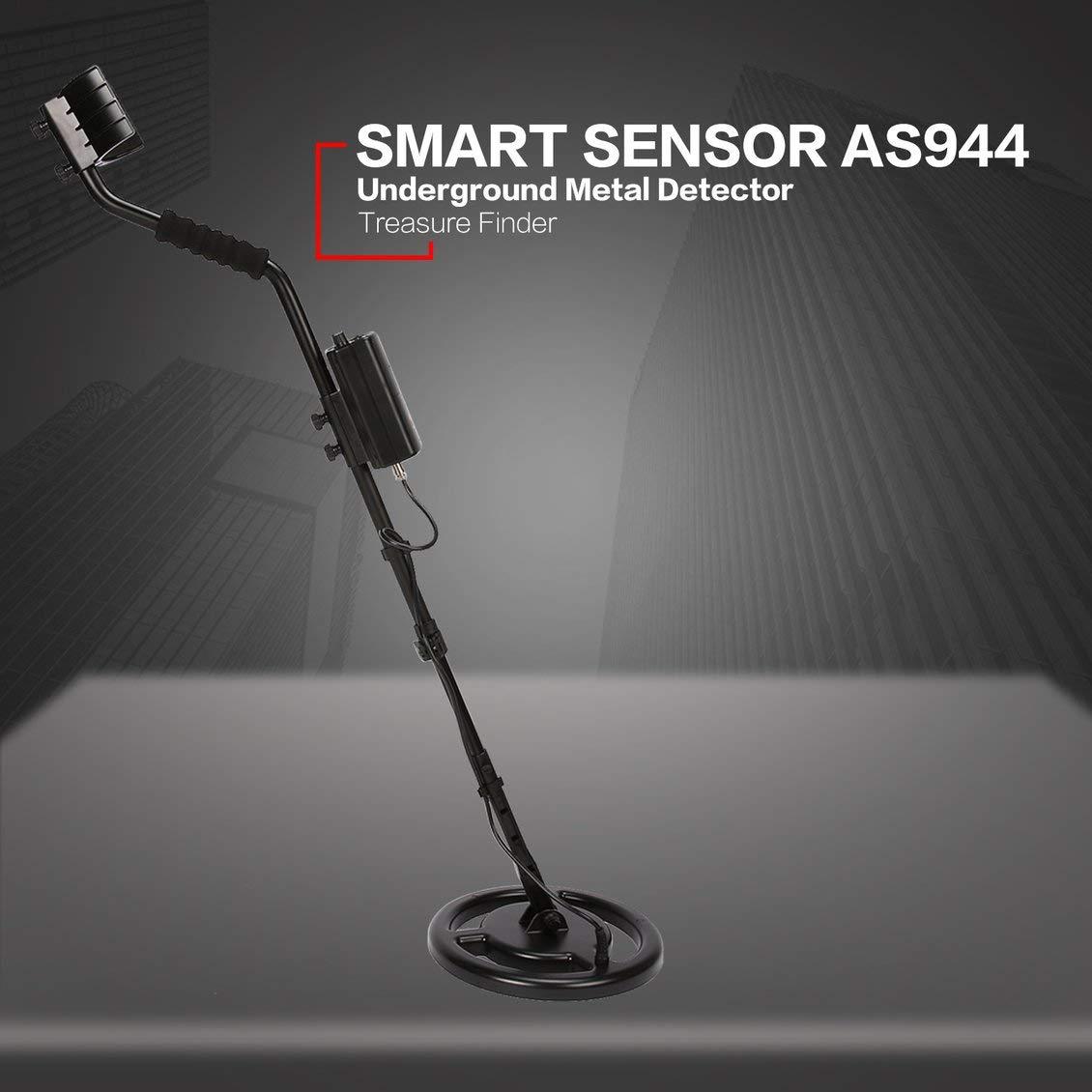 Amazon.com : PGIGE Smart Sensor AS944 Professional Underground Metal Detector Adjustable Gold Silver Finder Treasure Hunter Tracker 3m Depth : Garden & ...